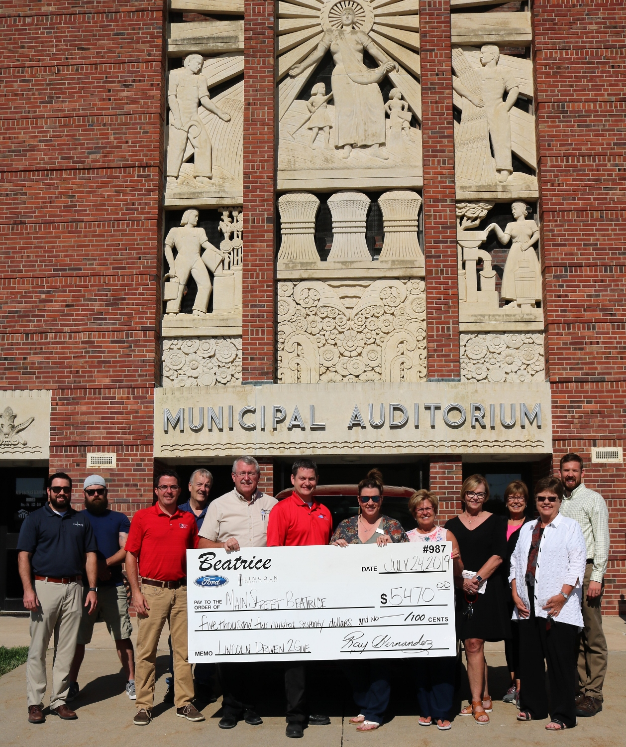 Lincoln Driven to Give Event raises $5,470 for Main Street Beatrice