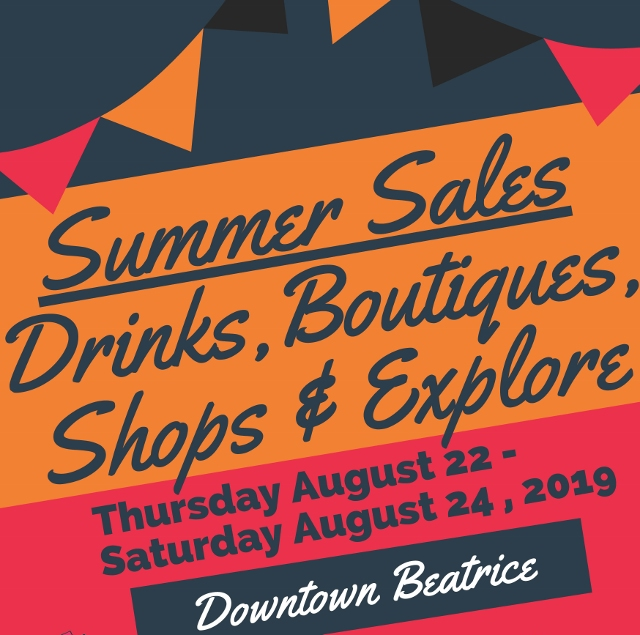 Downtown Summer Sales Event