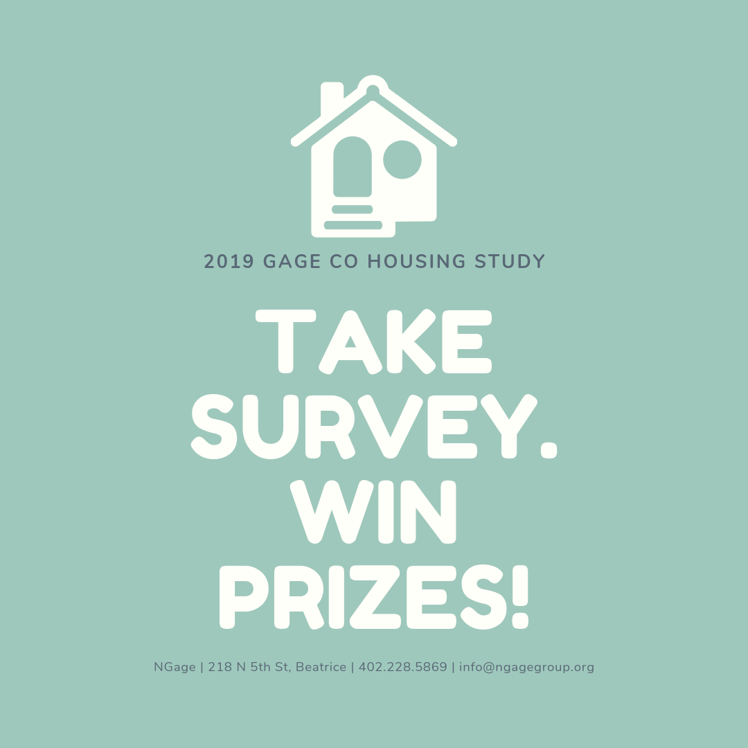 Gage County Housing Survey Taking Place Now