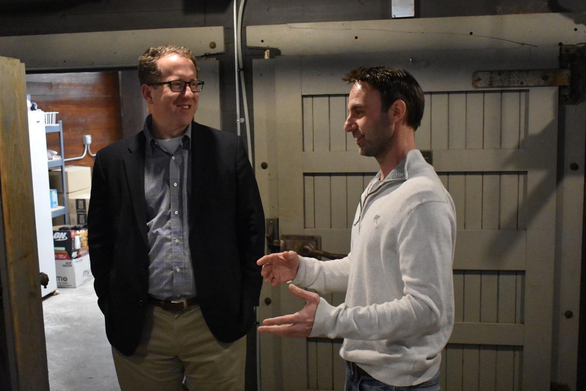Congressman Adrian Smith Tours Mercantile Building