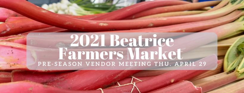 Beatrice Farmers Market – Pre-Season Vendor Meeting
